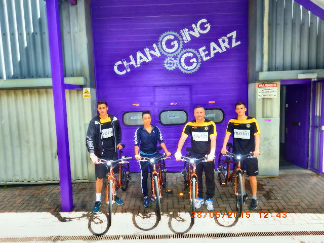 how to organise a charity bike ride